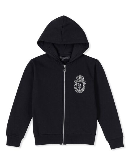 Hoodie Sweatjacket Royal Hood