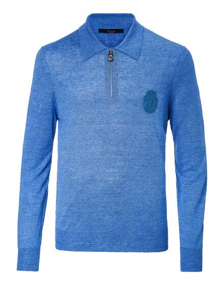 Pullover Polo-Neck LS Daniel