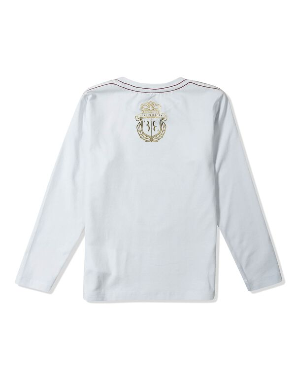 "T-shirt Round Neck LS ""Royal Fly"""