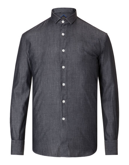 Shirt Silver Cut LS Daniel