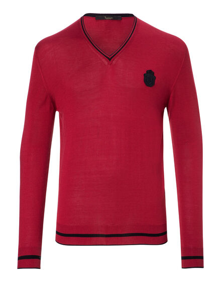 Pullover V-Neck LS Florent