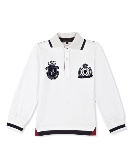Polo shirt LS Royal key