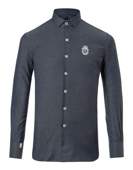 Shirt Silver Cut LS Thuder