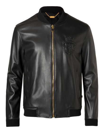 Leather Bomber Adams