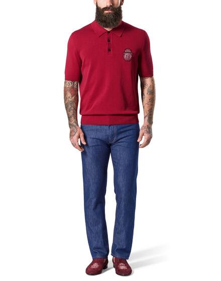 Pullover Polo Neck SS