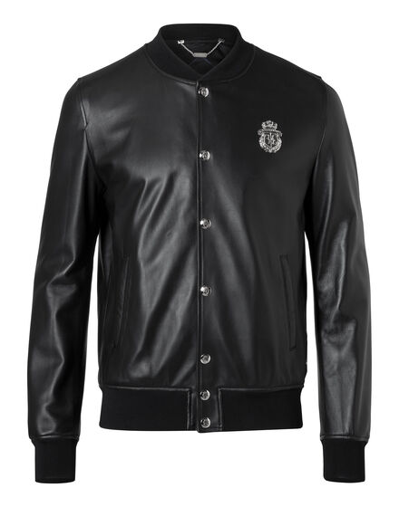 Leather Bomber Miss Ellie
