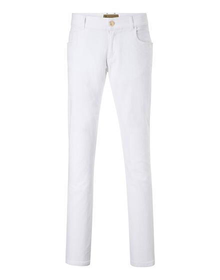 Denim Trousers White man